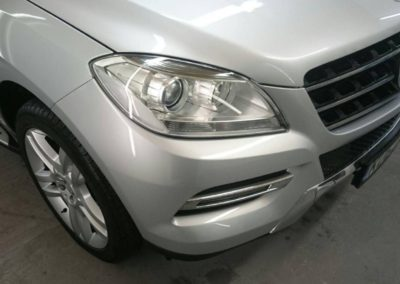 Mercedes | Silver Car | Car Body Repairs | Pace Automotive